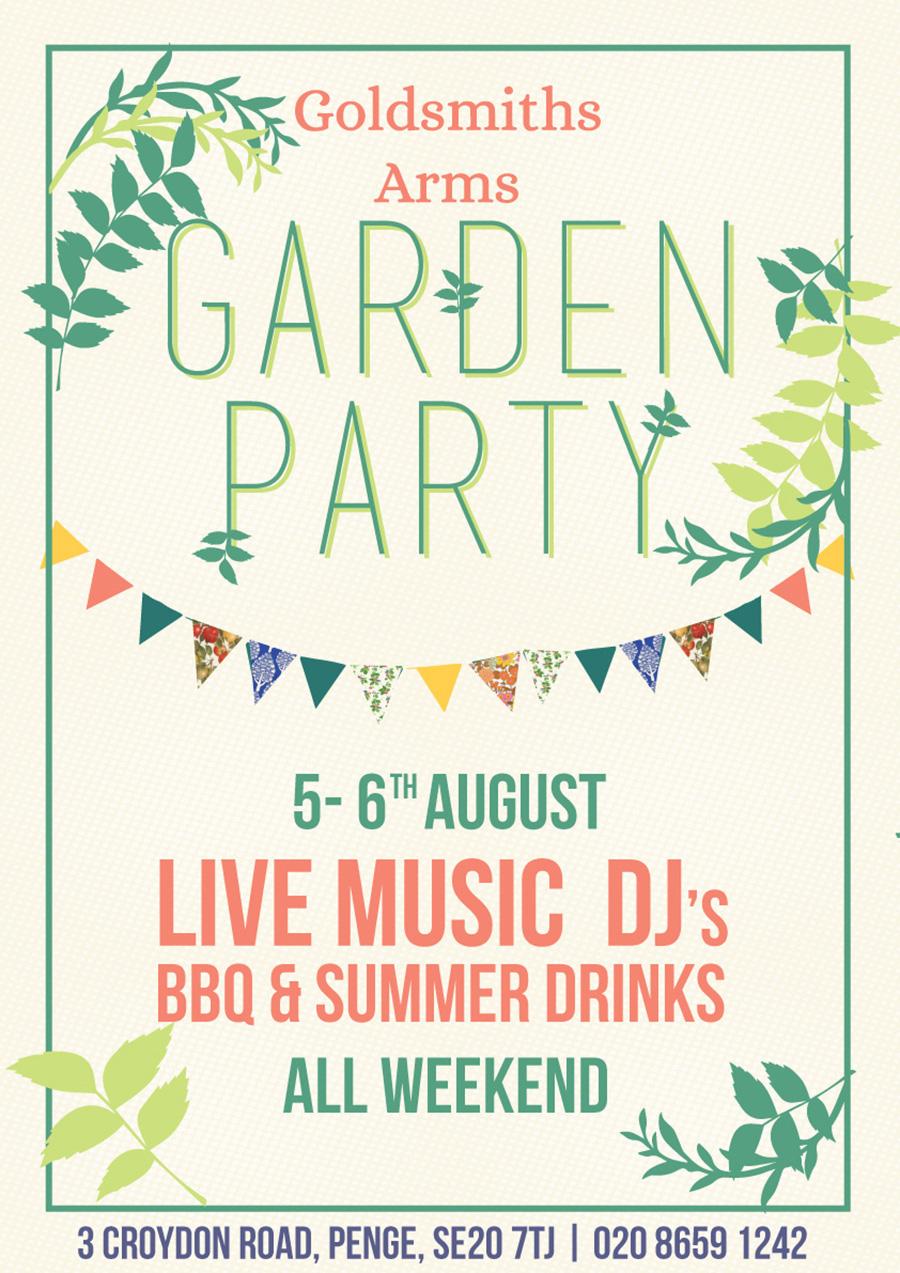 Garden Party Weekend